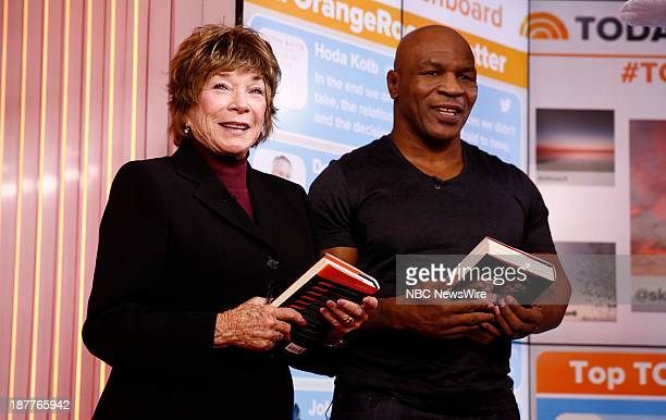 Shirley MacLaine and Mike Tyson appear on NBC News' 'Today' show