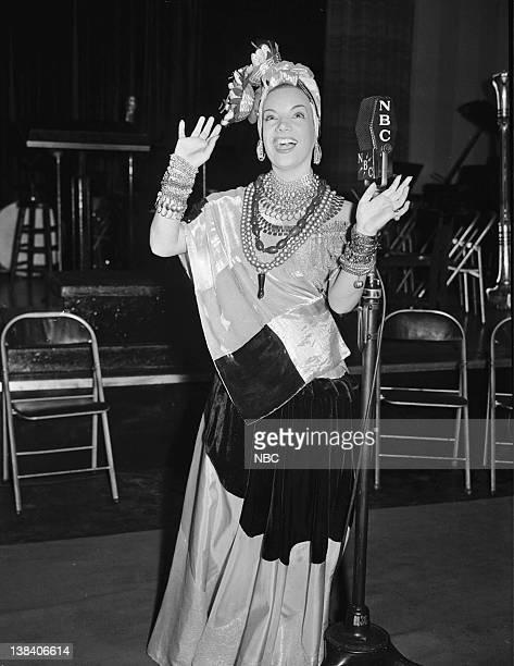 Singer Carmen Miranda in 1939