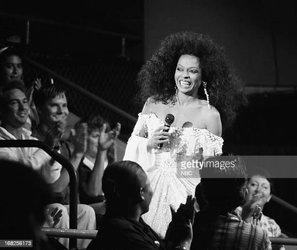 Singer Diana Ross on July 24 1991