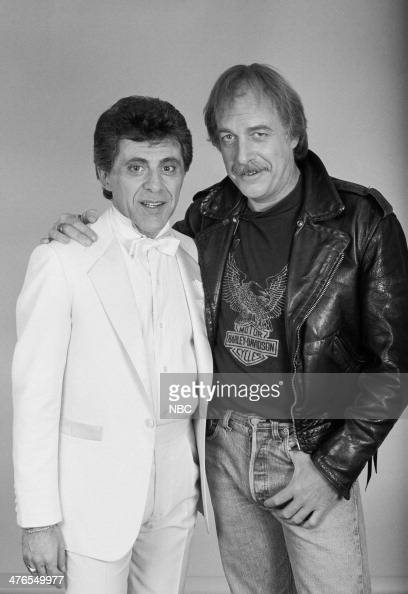 ROCK 'N' ROLL Pictured Singer Frankie Valli host Howard Hesseman Frankie Valli