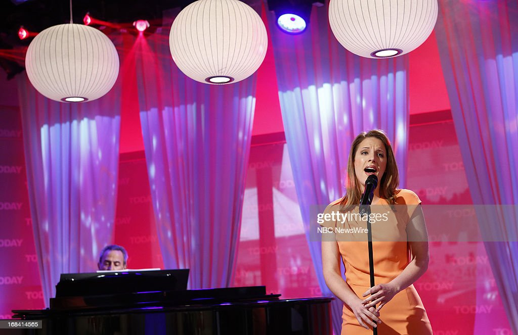 Singer Jessie Mueller appears on NBC News' 'Today' show on May 9, 2013 --