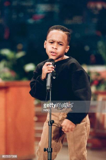Singer Maestro Harrell during a performance on February 23 1998