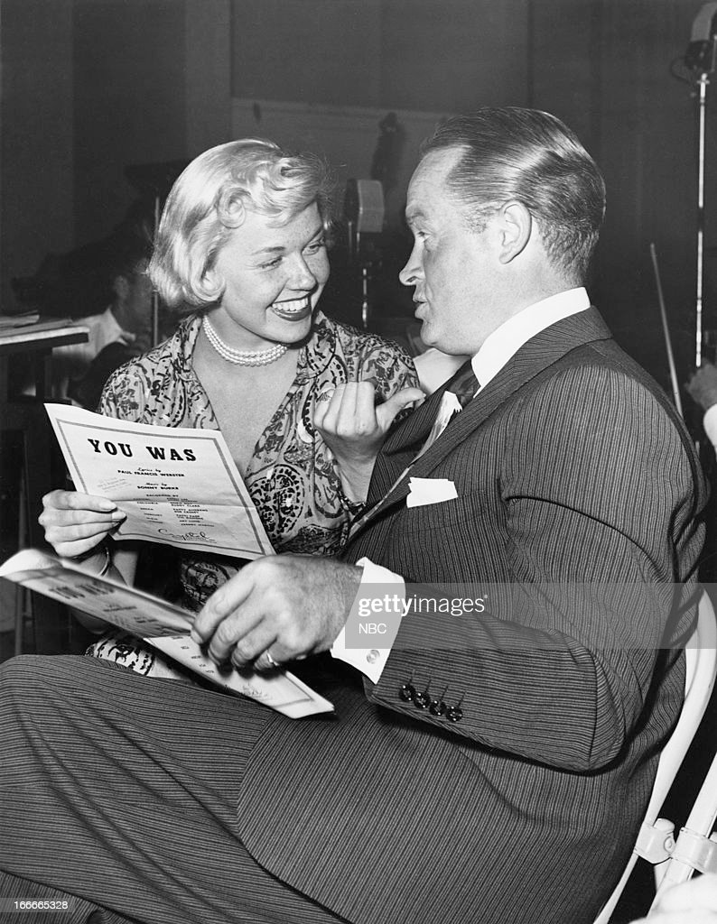 Singer/actress Doris Day, actor/comedian Bob Hope --