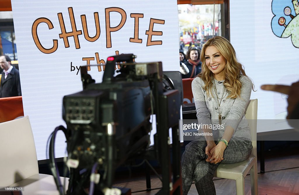 Singer/children's author Thalia appears on NBC News' 'Today' show on November 4, 2013 --