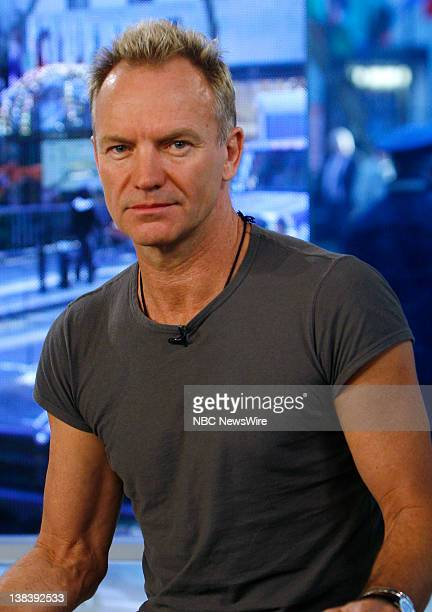 Singer/musician Sting talks about the inspiration for his song and the subject of his new book 'Lyrics' on October 29 2007