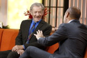 Sir Ian McKellen appears on NBC News' 'Today' show