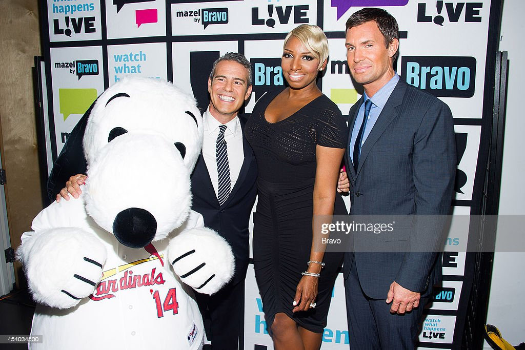 Snoopy, Andy Cohen, NeNe Leakes and Jeff Lewis --