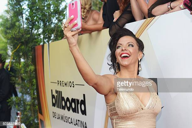Sofia Lachapelle arrives at the 2016 Billboard Latin Music Awards at the BankUnited Center in Miami Florida on April 28 2016