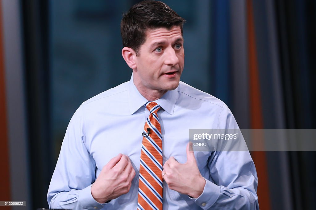 Speaker of the House Paul Ryan in an interview on February 23, 2016 --