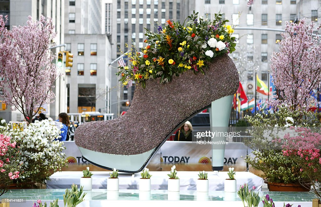 'Spring Fling' on The Plaza on NBC News' 'Today' show on March 20, 2013 --