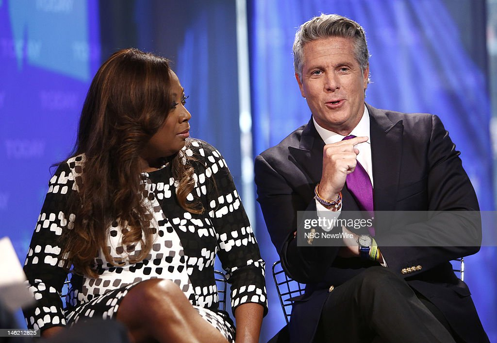 Star Jones and Donny Deutsch appear on NBC News' 'Today' show --