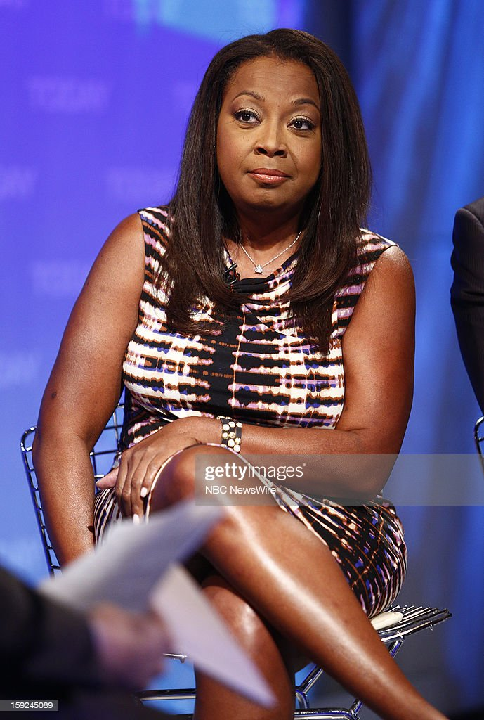 <a gi-track='captionPersonalityLinkClicked' href=/galleries/search?phrase=Star+Jones&family=editorial&specificpeople=202645 ng-click='$event.stopPropagation()'>Star Jones</a> appears on NBC News' 'Today' show --