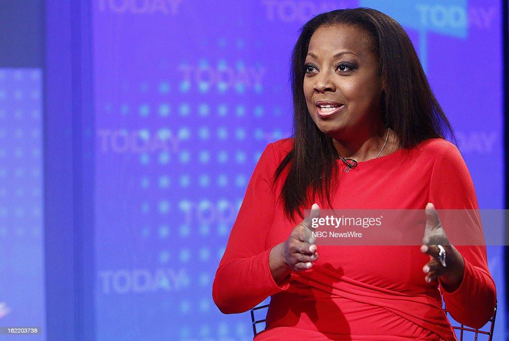 Star Jones appears on NBC News' 'Today' show --