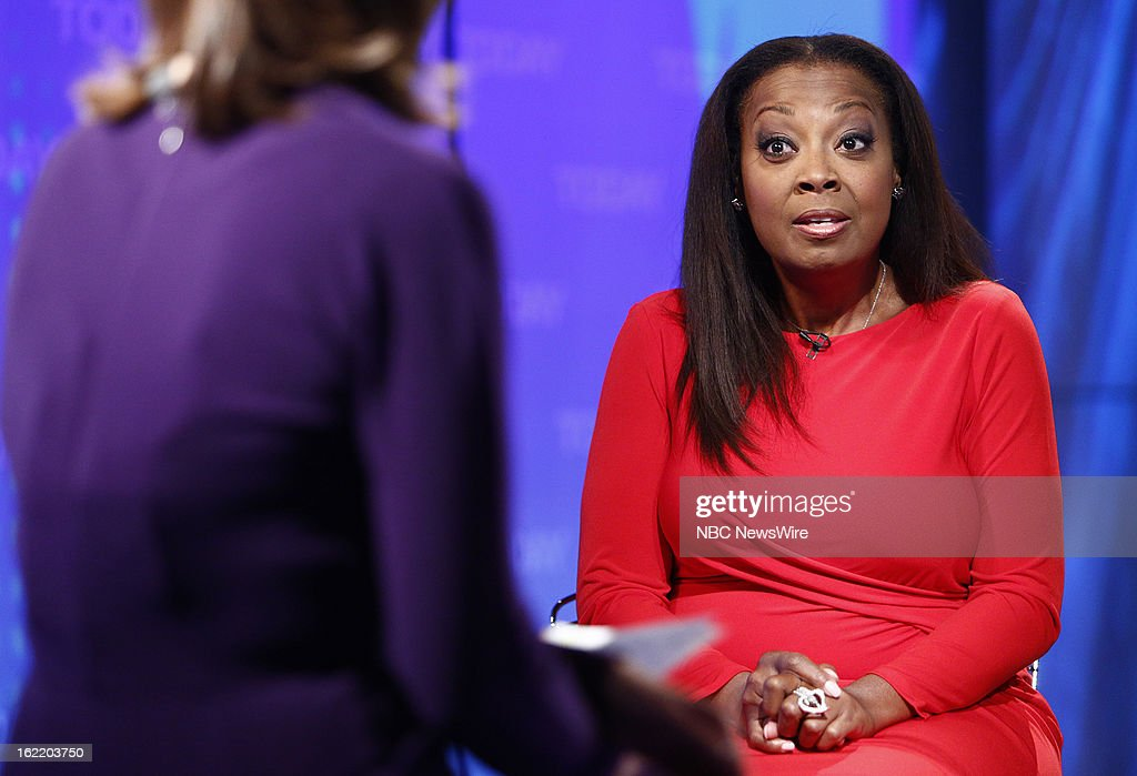 Star Jones appears on NBC News' 'Today' show --