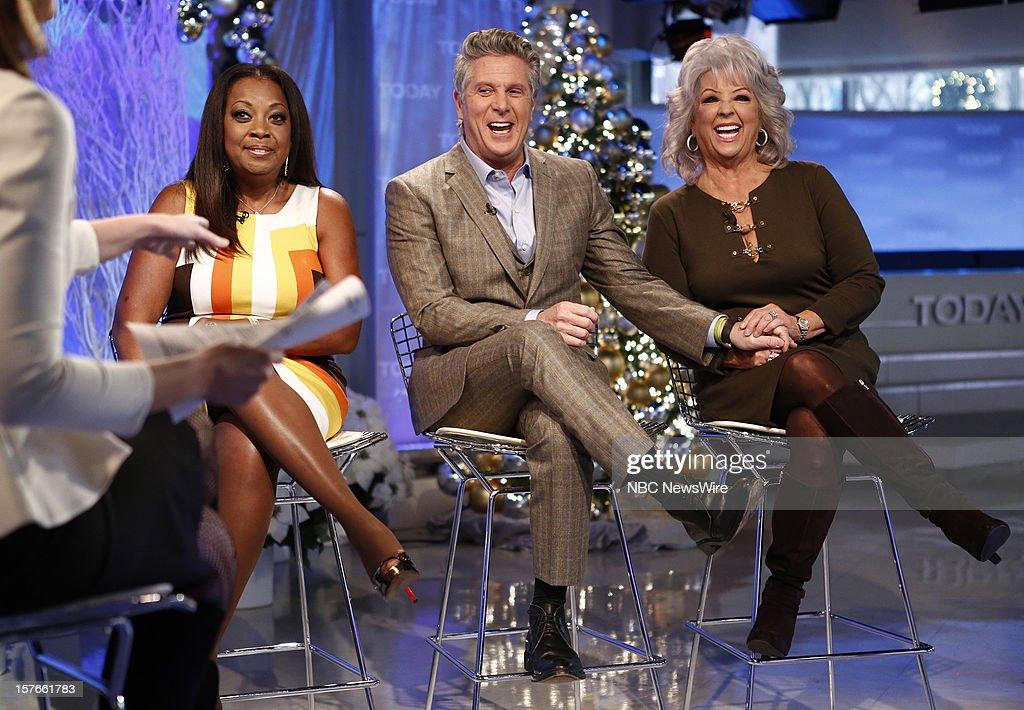 Star Jones, Donnie Deutsch and Paula Deen appear on NBC News' 'Today' show --