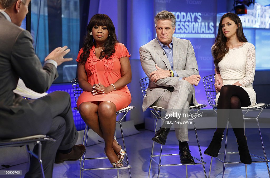 Star Jones, Donny Deutsch and Abby Huntsman appear on NBC News' 'Today' show --