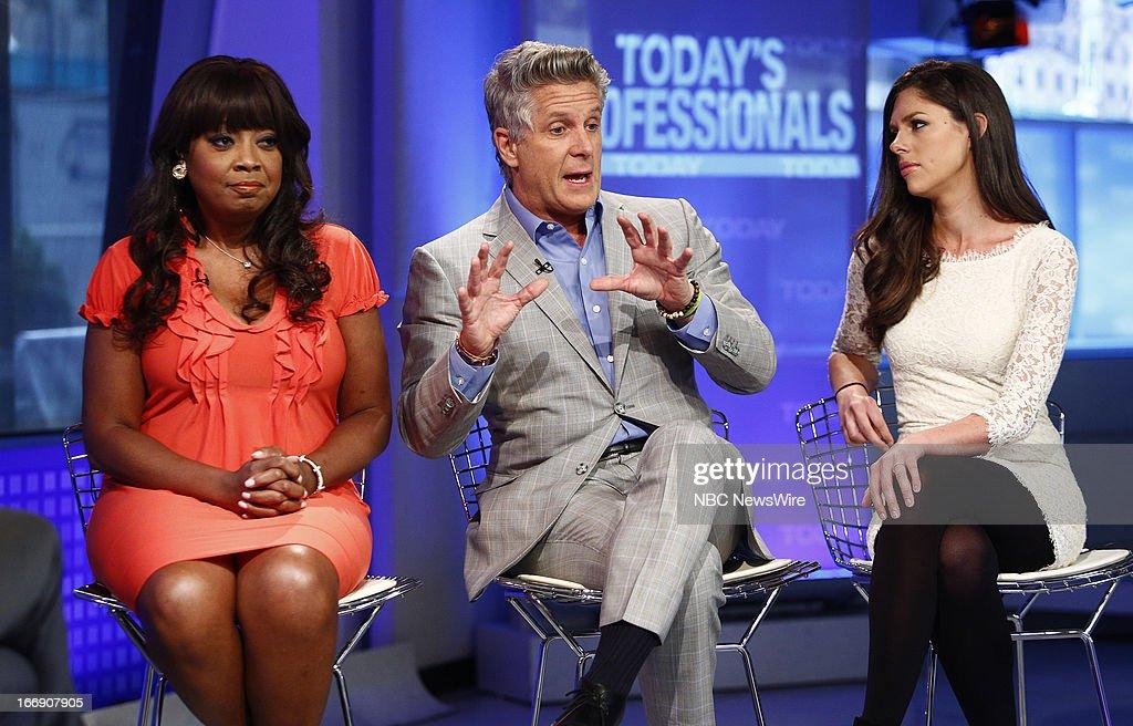 Star Jones, Donny Deutsch and Abby Huntsman appear on NBC News' 'Today' show --