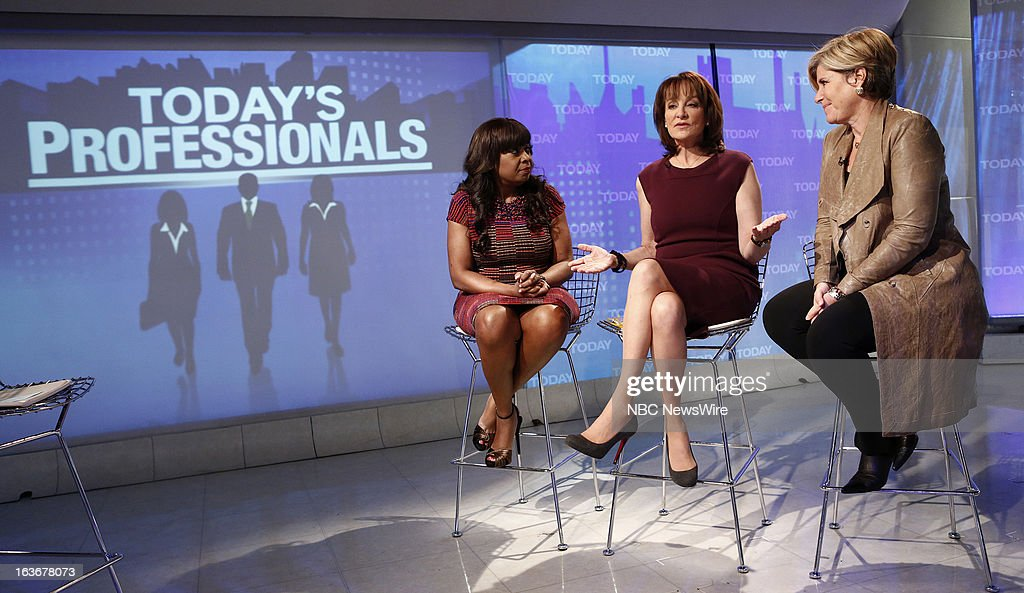 Star Jones, Dr. Nancy Snyderman and Suze Orman appear on NBC News' 'Today' show --