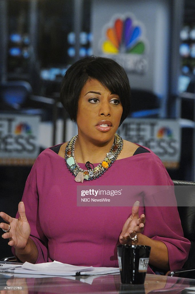 Stephanie Rawlings-Blake, Mayor of Baltimore (D) appears on 'Meet the Press' in Washington, D.C., Sunday, March 2, 2014.