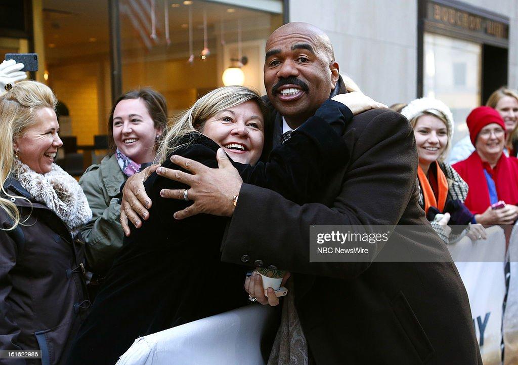 Steve Harvey appears on NBC News' 'Today' show --