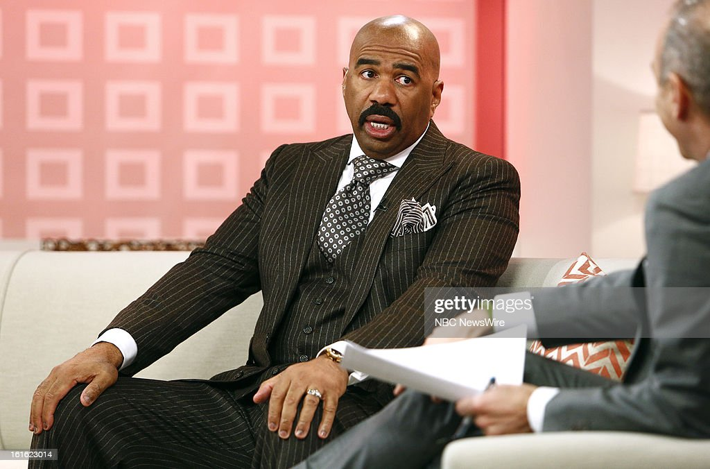 Steve Harvey appears on NBC News' 'Today' show --
