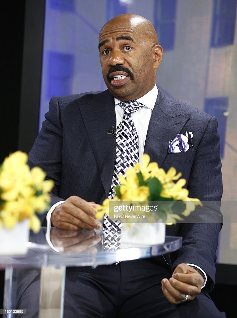 <a gi-track='captionPersonalityLinkClicked' href=/galleries/search?phrase=Steve+Harvey&family=editorial&specificpeople=210865 ng-click='$event.stopPropagation()'>Steve Harvey</a> appears on NBC News' 'Today' show --