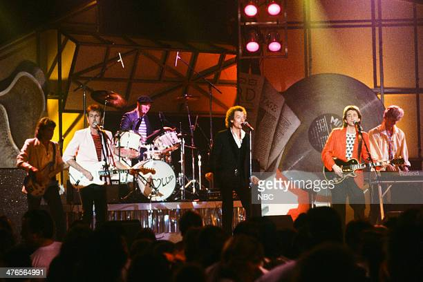 ROCK 'N' ROLL Pictured Steve Stroud Graham Nash Bobby Elliott Allan Clarke Tony Hicks Denis Haines of the Hollies