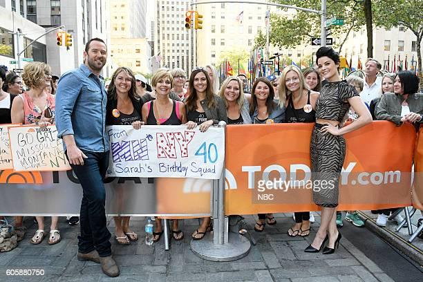 Sullivan Stapleton and Jaimie Alexander appear on NBC's 'TODAY' show on Wednesday September 14 2016