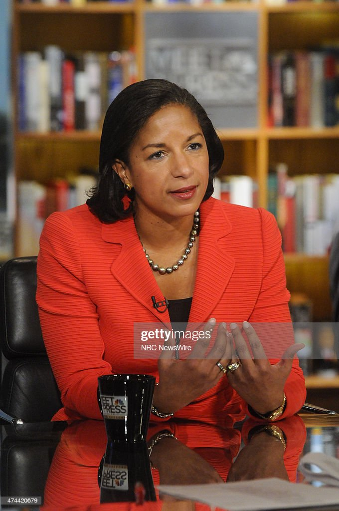 Susan Rice, National Security Adviser, appears on 'Meet the Press' in Washington, D.C., Sunday, Feb. 23, 2014.