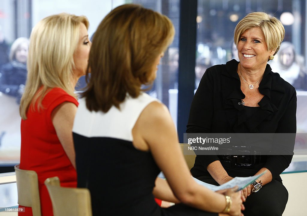 Suze Orman appears on NBC News' 'Today' show --