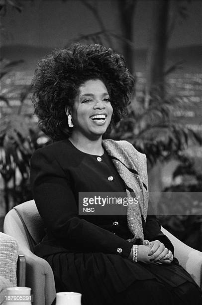 Talk show host/actress Oprah Winfrey on February 5 1988