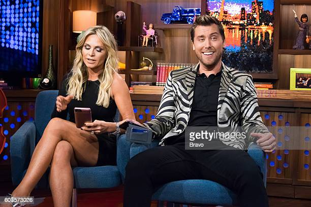 Tamra Judge and Lance Bass