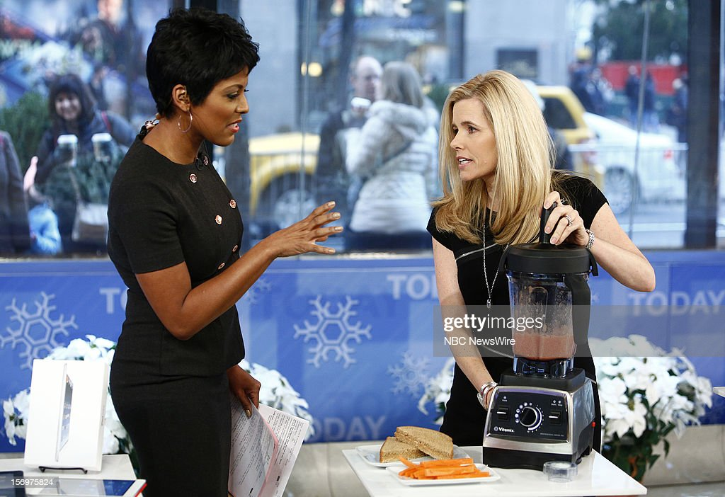 Tamron Hall and Kelly Wallace appear on NBC News' 'Today' show --
