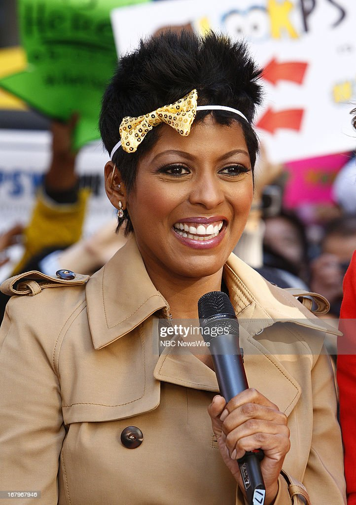 Tamron Hall appears on NBC News' 'Today' show --