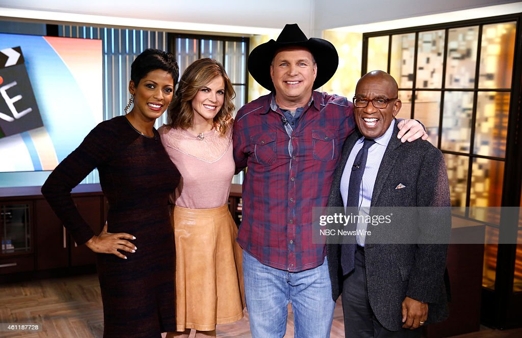 Tamron Hall Natalie Morales Garth Brooks and Al Roker appear on NBC News' 'Today' show