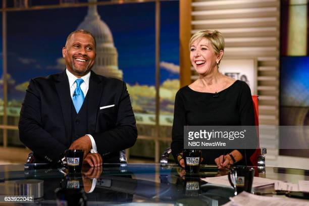 Tavis Smiley Host PBS Tavis Smiley and Danielle Pletka SVP Foreign and Defense Policy Studies at the American Enterprise Institute appear on 'Meet...