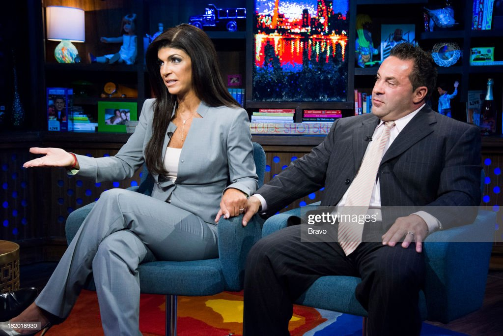<a gi-track='captionPersonalityLinkClicked' href=/galleries/search?phrase=Teresa+Giudice&family=editorial&specificpeople=5912953 ng-click='$event.stopPropagation()'>Teresa Giudice</a> and <a gi-track='captionPersonalityLinkClicked' href=/galleries/search?phrase=Joe+Giudice&family=editorial&specificpeople=5978109 ng-click='$event.stopPropagation()'>Joe Giudice</a> -- Photo by: Charles Sykes/Bravo/NBCU Photo Bank via Getty Images