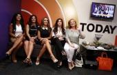 Teresa Giudice Kathy Wakile Melissa Gorga Jacqueline Laurita and Caroline Manzo appear on NBC News' 'Today' show
