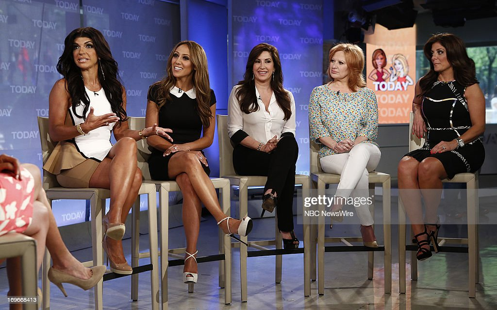 <a gi-track='captionPersonalityLinkClicked' href=/galleries/search?phrase=Teresa+Giudice&family=editorial&specificpeople=5912953 ng-click='$event.stopPropagation()'>Teresa Giudice</a>, <a gi-track='captionPersonalityLinkClicked' href=/galleries/search?phrase=Melissa+Gorga&family=editorial&specificpeople=7306775 ng-click='$event.stopPropagation()'>Melissa Gorga</a>, Jacqueline Laurita, <a gi-track='captionPersonalityLinkClicked' href=/galleries/search?phrase=Caroline+Manzo&family=editorial&specificpeople=5841102 ng-click='$event.stopPropagation()'>Caroline Manzo</a> and <a gi-track='captionPersonalityLinkClicked' href=/galleries/search?phrase=Kathy+Wakile&family=editorial&specificpeople=7306776 ng-click='$event.stopPropagation()'>Kathy Wakile</a> appear on NBC News' 'Today' show --