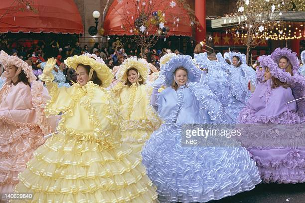 The Beatrix Potter Brigade during the 1996 Macy's Thanksgiving Day Parade Photo by NBCU Photo Bank