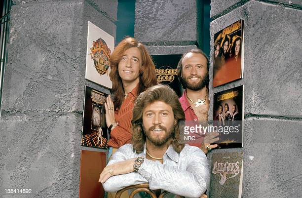 The Bee Gees Robin Gibb Barry Gibb Maurice Gibb