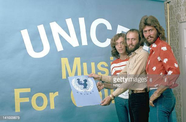 The Bee Gees Robin Gibb Maurice Gibb Barry Gibb Photo by NBC/NBCU Photo Bank
