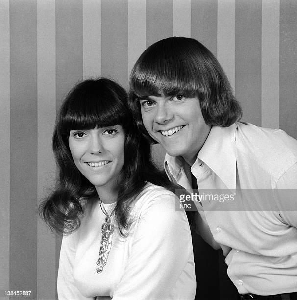 The Carpenters Karen Carpenter and Richard Carpenter