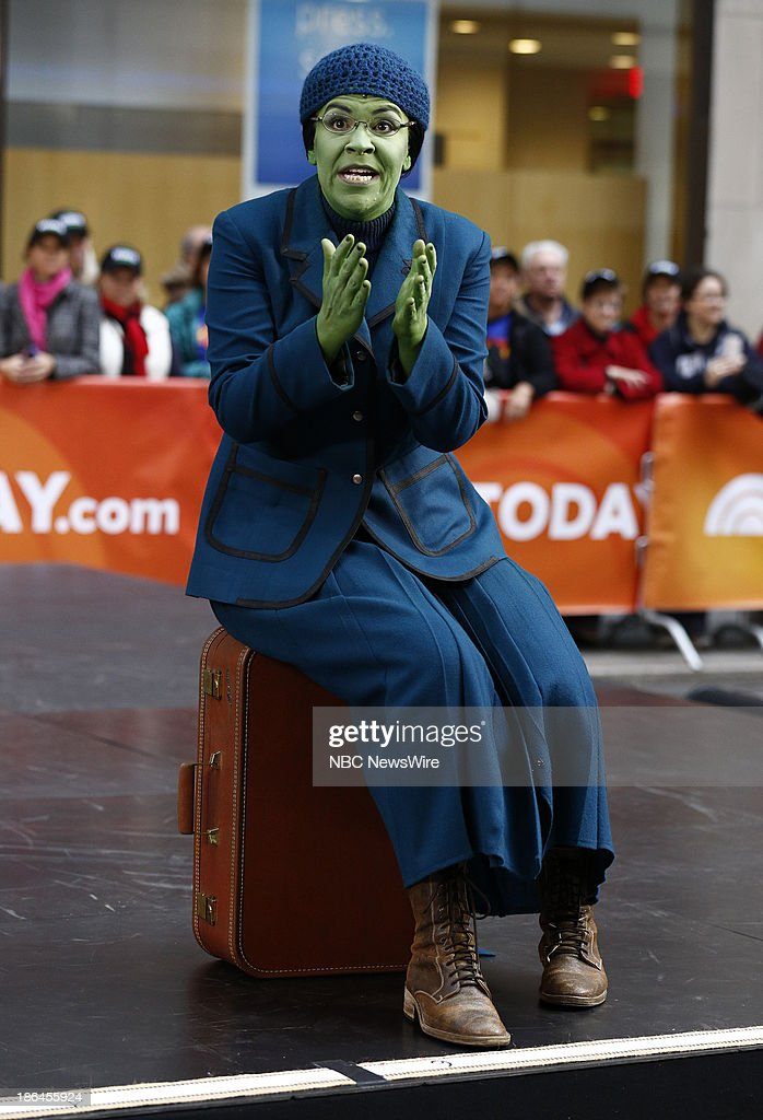 The cast of 'Wicked' appears on NBC News' 'Today' show --
