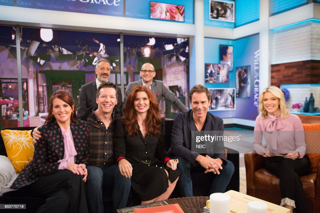 "NBC's ""Megyn Kelly TODAY"" Premiere episode, cast of Will & Grace"