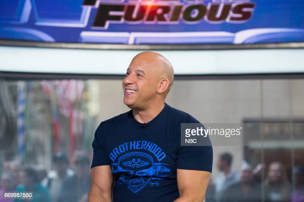'The Fate of the Furious' star and producer Vin Diesel joins TODAY to talk about the new installment in the action movie franchise in which his...