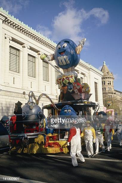 The MM's balloon during the 1997 Macy's Thanksgiving Day Parade Photo by NBCU Photo Bank