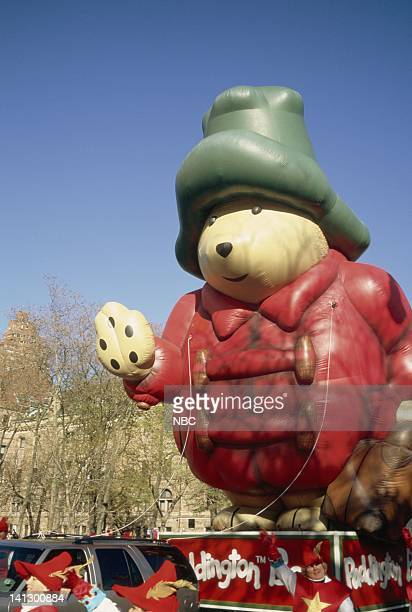 The Paddington balloon during the 1997 Macy's Thanksgiving Day Parade Photo by NBCU Photo Bank