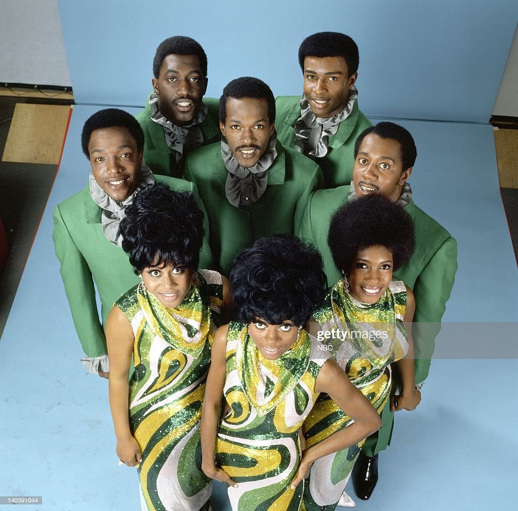The Temptations and The Supremes Otis Williams Dennis Edwards Paul Williams Eddie Kendricks Melvin Franklin Cindy Birdsong Diana Ross Mary Wilson...