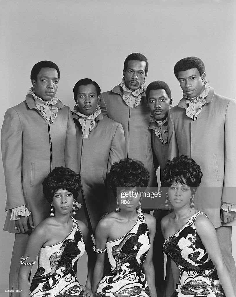 The Temptations and The Supremes Paul Williams Melvin Franklin Eddie Kendricks Otis Williams Dennis Edwards Mary Wilson Diana Ross Cindy Birdsong...